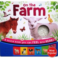 Buku Anak Import On the Farm Sound Board Book with 6 animal sounds and
