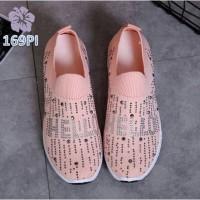 Sepatu Wanita Slipon Sock Hello - 169