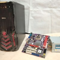 Rakitan Komputer Pc Core 2 Duo E4500 2,2G + Mb.G41 Ddr3 Hd 160G 2ND