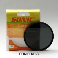 SONIC ND8 72mm NEW