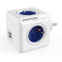 Allocacoc PowerCube Original USB Stop kontak Steker Listrik