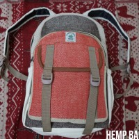 HEMP BACKPACK / TAS SERAT G*NJA ASELI