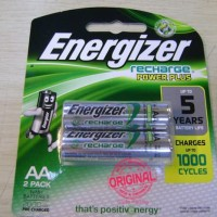 Rechargeable Batteries - Energizer - Rechargeable AA 2000mAh