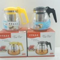 Harga teko penyeduh teh teapot 1100 ml | antitipu.com