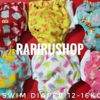 [Size 2 BB 12-16KG] Swim Diaper Popok Berenang Minikinizz