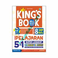 KING'S BOOK SEMUA PELAJARAN 5 IN 1 KELAS 8 SMP MTS