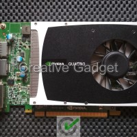 Nvidia Quadro 2000 - VGA Card Design 3D Workstation 1 GB 128 Bit DDR5