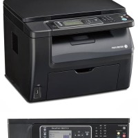 Fuji xerox docuprint cm215 b laser printer warna