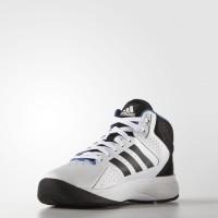 Sepatu Basket Adidas Cloudfoam Mid White (original)