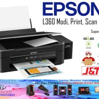 Printer Epson All in One L360 Print - Scan - Copy Infus Pabrik Murah