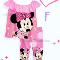 Harga piyama anak perempuan minnie mouse jw 66 | Pembandingharga.com