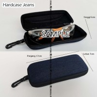 Safety Eyewear Hardcase Jeans Pelindung Tempat Kacamata Pouch Case Box