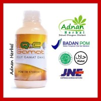 Obat Herbal Luka Diabetes | 100% Alami & Ampuh - QnC Jelly Gamat