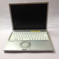 Laptop panasonic core 2 duo 14 inch built up