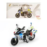 Tiny Diecast 86 Honda NC750P (AMP6404) Hongkong Police Motor