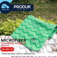 Lap microfiber scrubber interior detailing/lap interior mobil higienis
