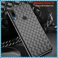 Softcase TPU Luxury Botega Grid Case Cover Casing HP Huawei Nova 3i
