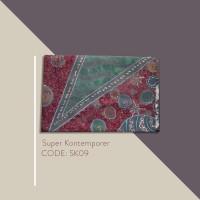 Kain Batik Tulis Solo Abstrak Super Kontemporer Kode SK09