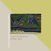 Kain Batik Tulis Solo Abstrak Super Kontemporer Kode SK10