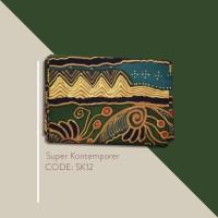 Kain Batik Tulis Solo Abstrak Super Kontemporer Kode SK12