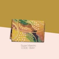 Kain Batik Tulis Solo Abstrak Super Maestro Kode SM41