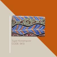Kain Batik Tulis Solo Abstrak Super Kontemporer Kode SK13