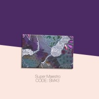 Kain Batik Tulis Solo Abstrak Super Maestro Kode SM43