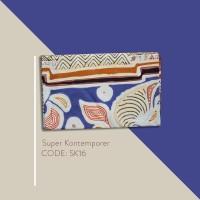 Kain Batik Tulis Solo Abstrak Super Kontemporer Kode SK16