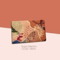 Kain Batik Tulis Solo Abstrak Super Maestro Kode SM42