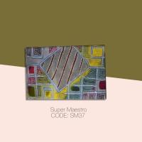 Kain Batik Tulis Solo Abstrak Super Maestro Kode SM37