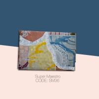 Kain Batik Tulis Solo Abstrak Super Maestro Kode SM36