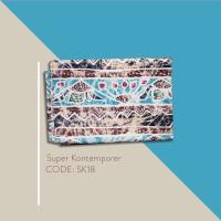 Kain Batik Tulis Solo Abstrak Super Kontemporer Kode SK18