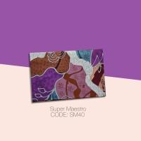 Kain Batik Tulis Solo Abstrak Super Maestro Kode SM40