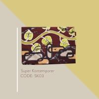 Kain Batik Tulis Solo Abstrak Super Kontemporer Kode SK03