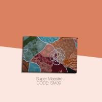 Kain Batik Tulis Solo Abstrak Super Maestro Kode SM39