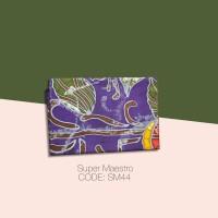 Kain Batik Tulis Solo Abstrak Super Maestro Kode SM44