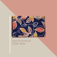 Kain Batik Tulis Solo Abstrak Super Kontemporer Kode SK06