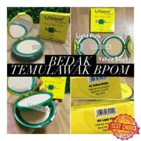 Bedak Temulawak BPOM v natural ( two way cake)