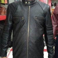 Jaket kulit domba asli kualitas super model semi racing original