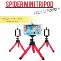 Mini Tripod Spider Free Holder U Medium Tripod Mini