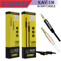 VANVO AUX CABLE CORD JACK 3.5MM TO JACK 3.5MM KABEL AUX AUDIO 1.2M