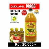 Cuka Apel BRAGG Repack 60 ml