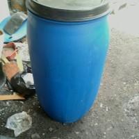 Drum plastik/tempat sampah/tempat air/tong