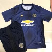 Jersey Anak / Kids MU / Manchester United 3Rd 2018 - 2019 Grade Ori