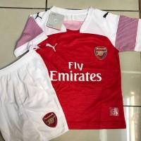 Jersey Anak / Kids Arsenal Home 2018 - 2019 Grade Ori