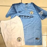 Jersey Anak / Kids Manchester City Home 2018 - 2019 Grade Ori