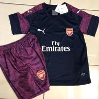 Jersey Anak / Kids Arsenal Away 2018 - 2019 Grade Ori