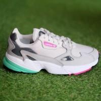 MODEL TERBARU HARGA TERMURAH Sepatu Adidas ORIGINAL Falcon Grey Pink