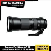 TAMRON LENSA SP 150-600mm f/5-6.3 Di VC USD (Nikon)