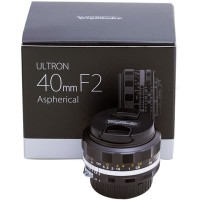 Voigtlander Ultron for Nikon F 40mm f/2 SL IIS Aspherical Lens (Black